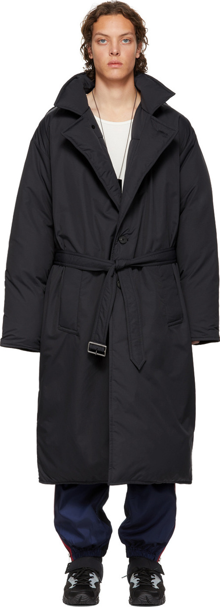 Givenchy Reversible Black Oversized Down Coat