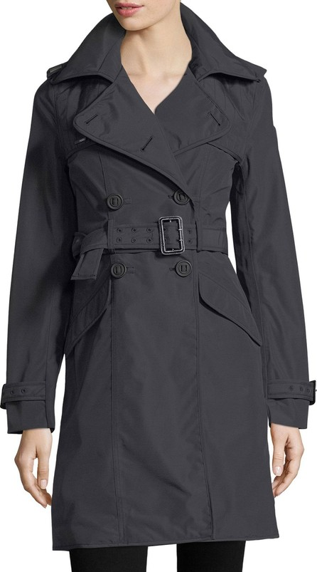 Nobis Double-Breasted Belted Parka Jacket