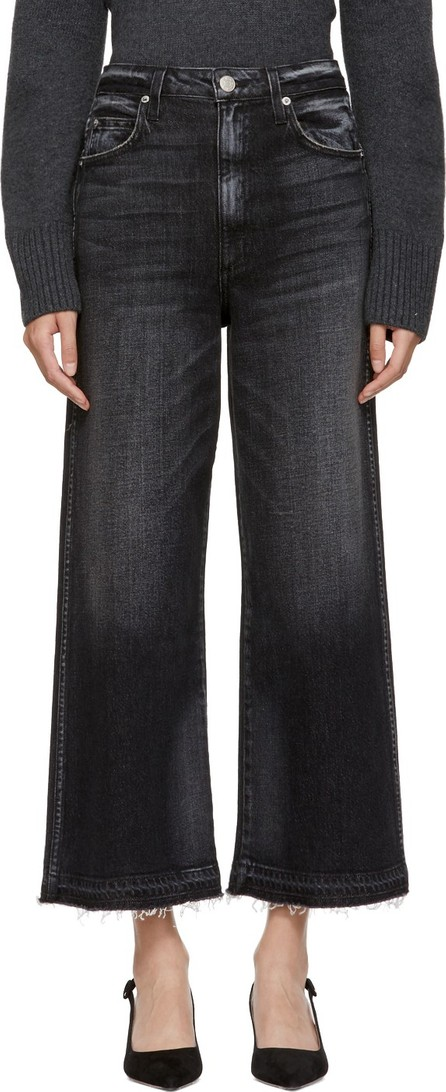 AMO Black Ava Cropped Jeans