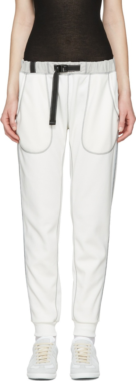 and Wander Off-White Ponte Lounge Pants