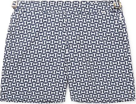 Orlebar Brown Bulldog X Mid-Length Printed Swim Shorts