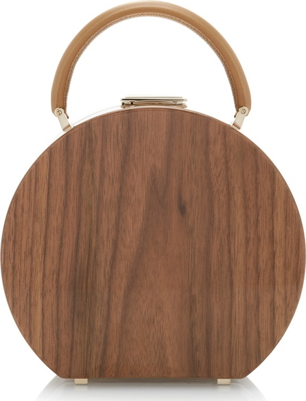 BUwood Bumi18 Walnut Wood Top Handle Bag