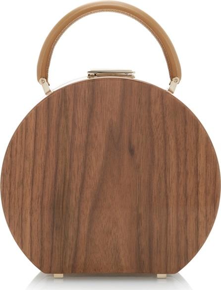 BUwood Bumi18 Walnut Wood Top Handle Bag