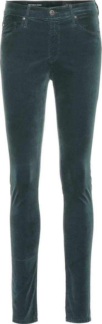 AG Jeans Farrah velvet skinny jeans