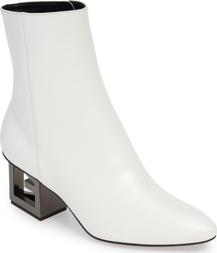 Givenchy Triangle G Heel Bootie