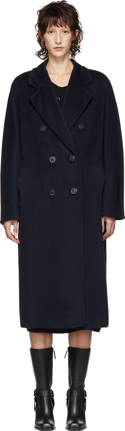 Max Mara Navy Madame Coat