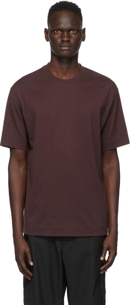 Y-3 Burgundy CH2 GFX T-Shirt