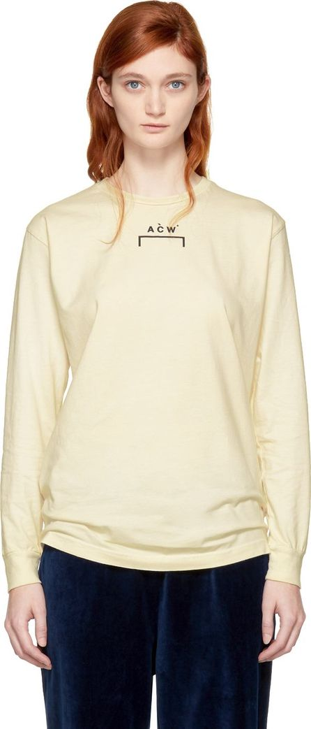 A-Cold-Wall* Off-White Long Sleeve Signature B/1 T-Shirt