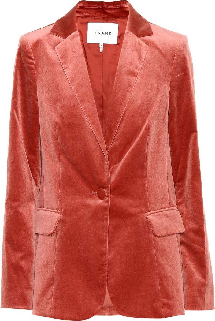 FRAME DENIM - Velvet blazer