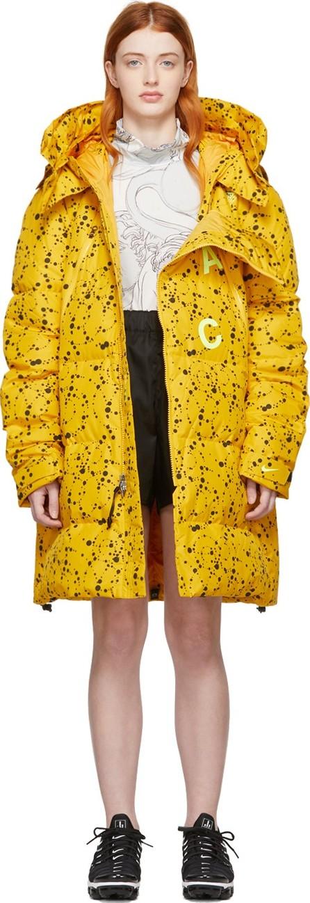 NikeLab Yellow Errolson Hugh Edition ACG Down Jacket