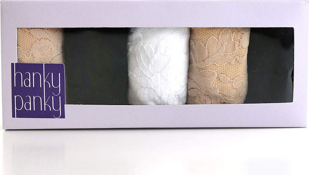 Hanky Panky - Five-Pack Low-Rise Thongs