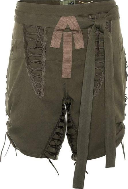 Saint Laurent Cotton and linen shorts