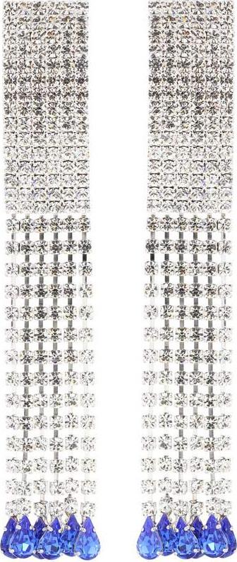 Alessandra Rich Crystal-embellished earrings