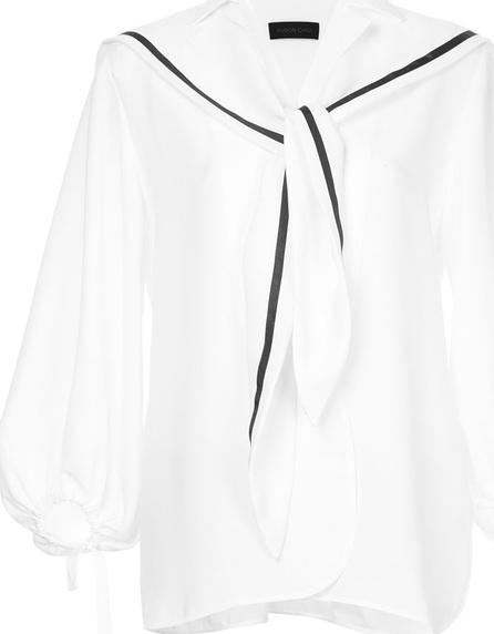 Eudon Choi Balloon sleeved blouse