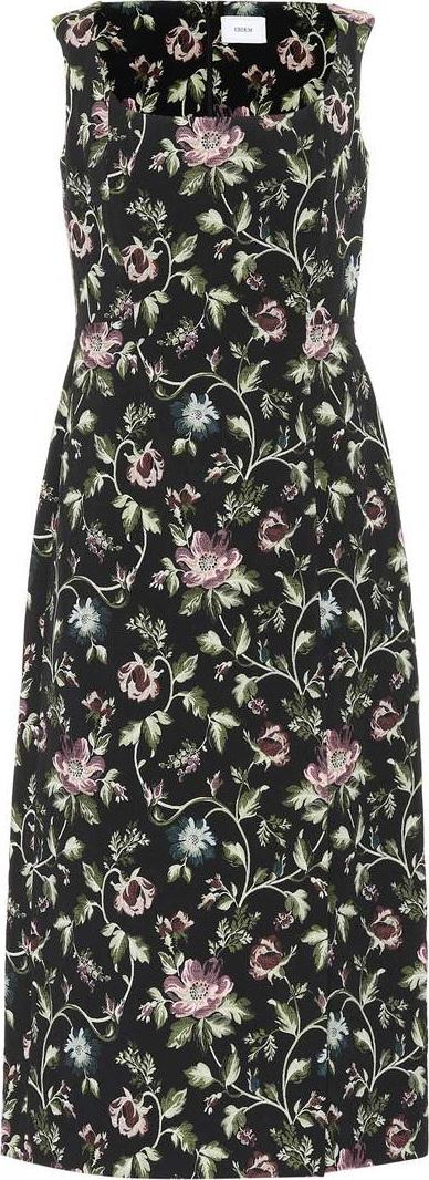 Erdem Arlie floral jacquard dress