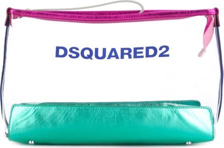 DSQUARED2 zip clutch