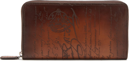 Berluti Itauba zip-around leather wallet