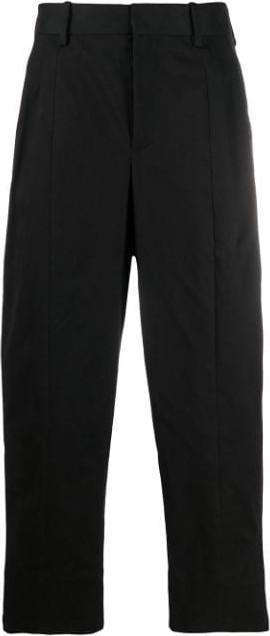 Neil Barrett Dart detail straight-leg trousers