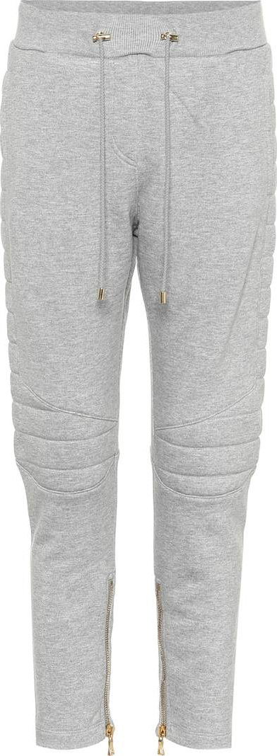 Balmain Cotton-blend trackpants
