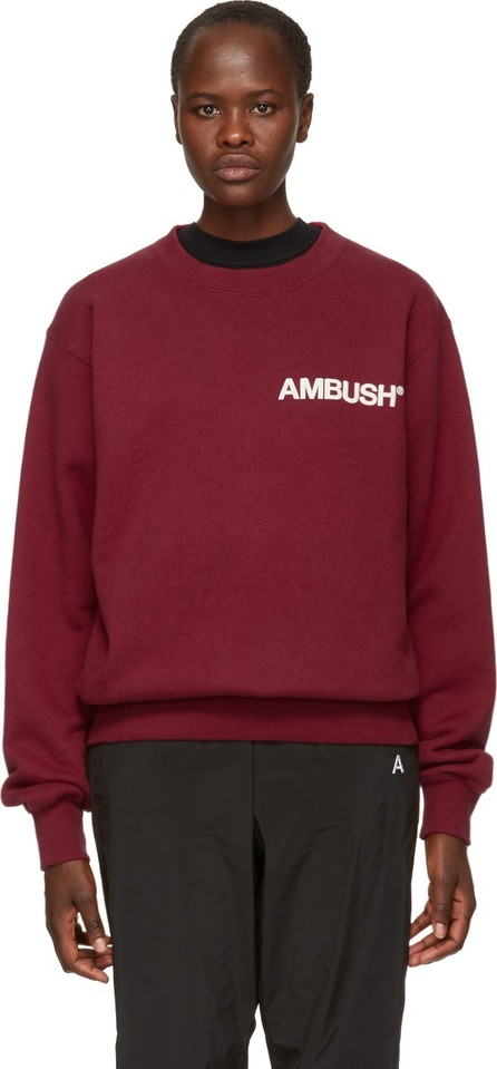 Ambush SSENSE Exclusive Red Nobo Sweatshirt