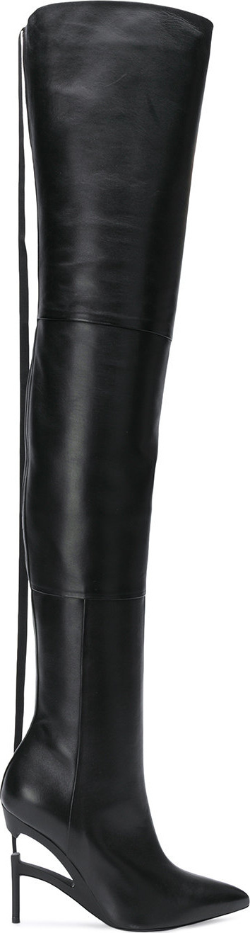 Ben Taverniti Unravel Project Stiletto over the knee boots