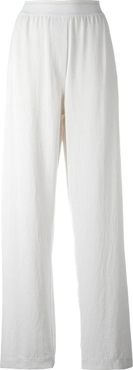 DKNY elasticated waist trousers