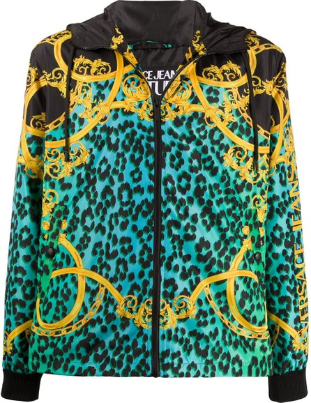 Versace Jeans Couture Baroque print jacket