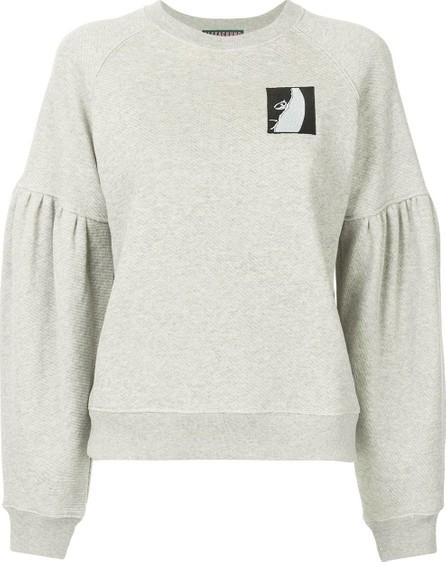 Alexa Chung Logo patch sweatshirt