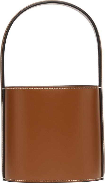 Staud Tan Mini Bissett Bag
