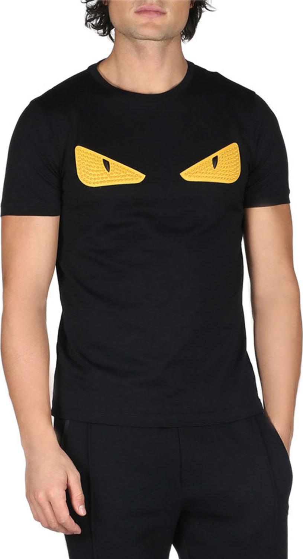 b68ff76ac6e Fendi Monster Eyes Crewneck T-Shirt