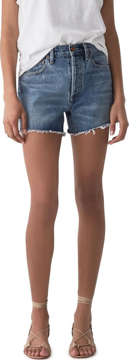 Agolde Micah Boyfriend Denim Shorts