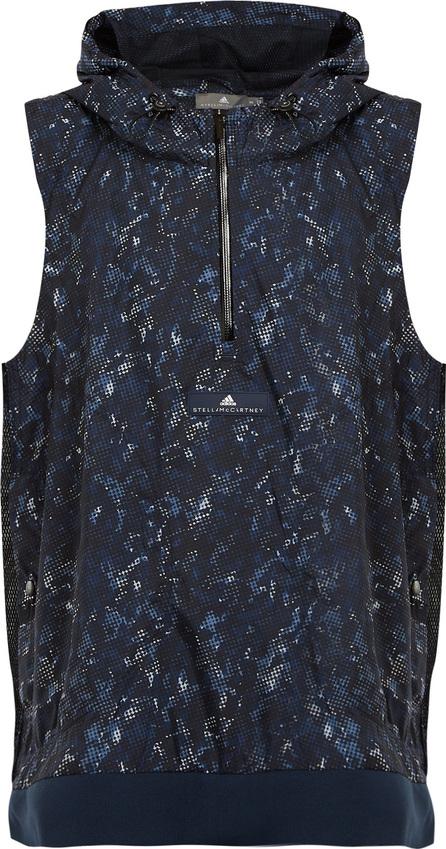Adidas By Stella McCartney Run Adizero abstract camouflage-print gilet