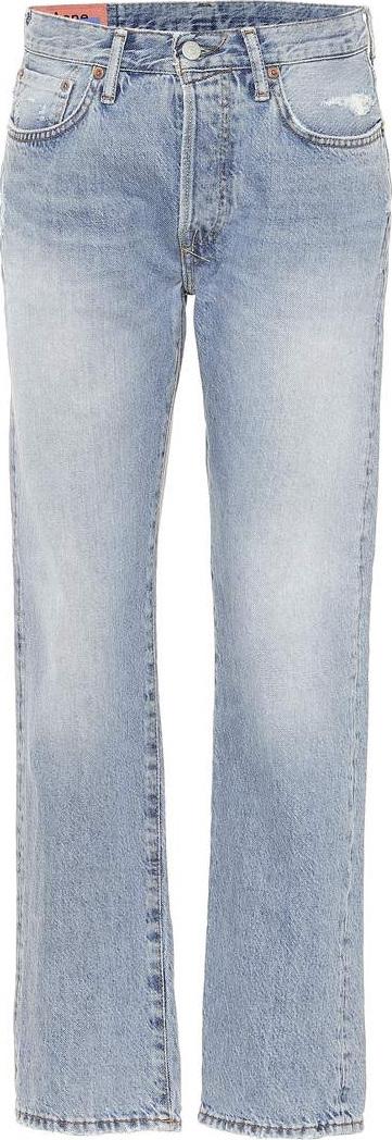 Acne Studios Blå Konst straight-leg jeans