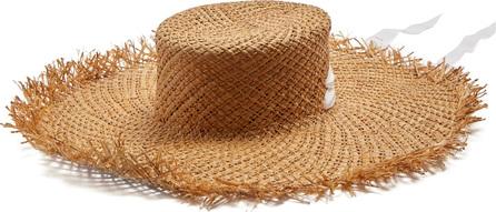 Albus Lumen Puglia wide-brimmed straw hat