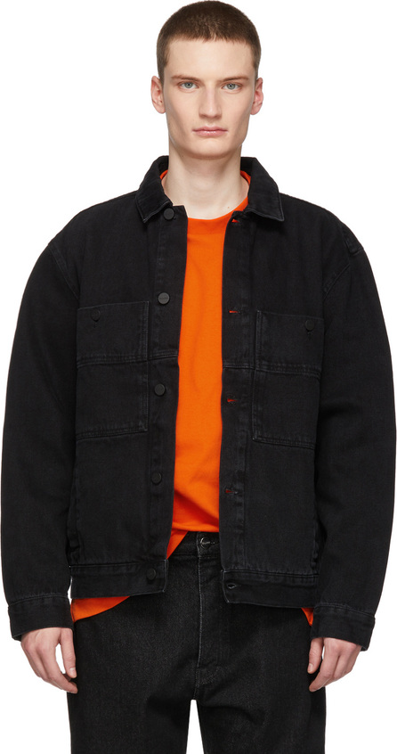 Etudes Black Denim Guest Jacket