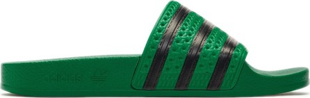 Adidas Originals Green Adilette Slides