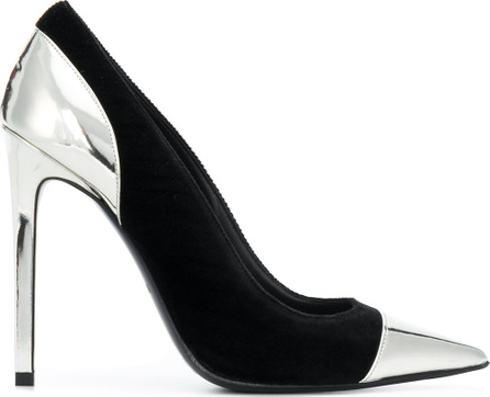 Balmain Panelled pointed toe pumps