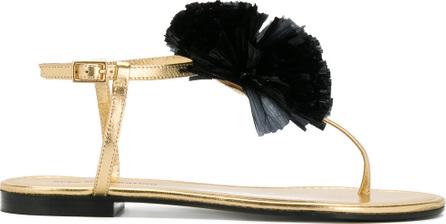 Avec ModèRation Appliqué detail sandals