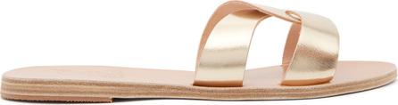 Ancient Greek Sandals Desmos cut-out leather slides