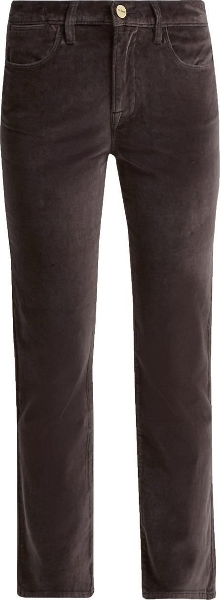 FRAME DENIM Le Velveteen cotton-blend velvet jeans