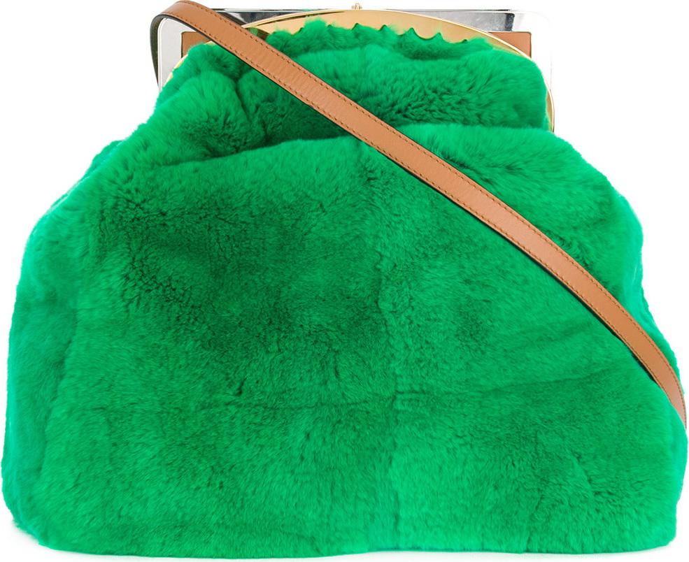Marni - Glitch clutch bag