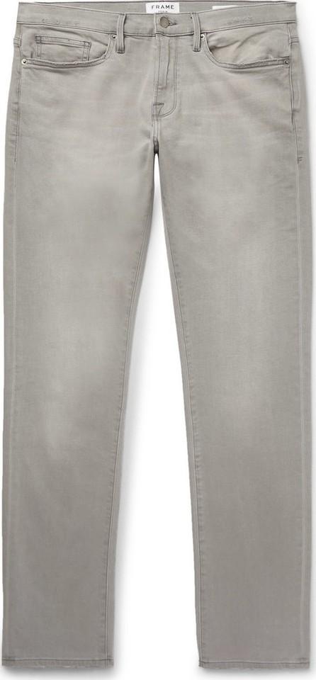 FRAME DENIM L'Homme Slim-Fit Stretch-Denim Jeans