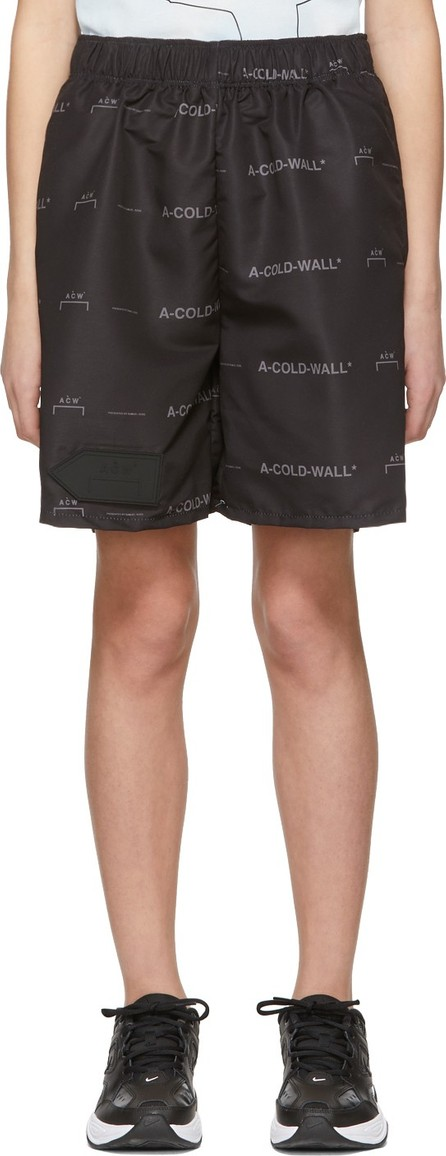 A-Cold-Wall* Black Logo Shorts