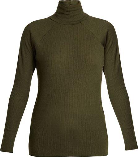Haider Ackermann Katz roll-neck ribbed-knit sweater