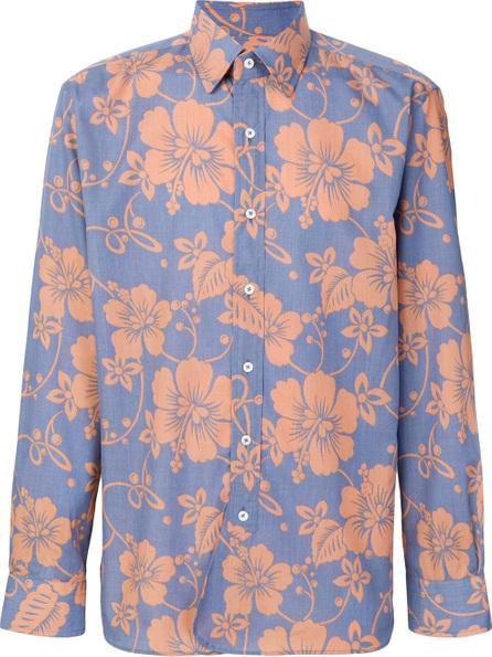 Doppiaa Hawaiian print shirt