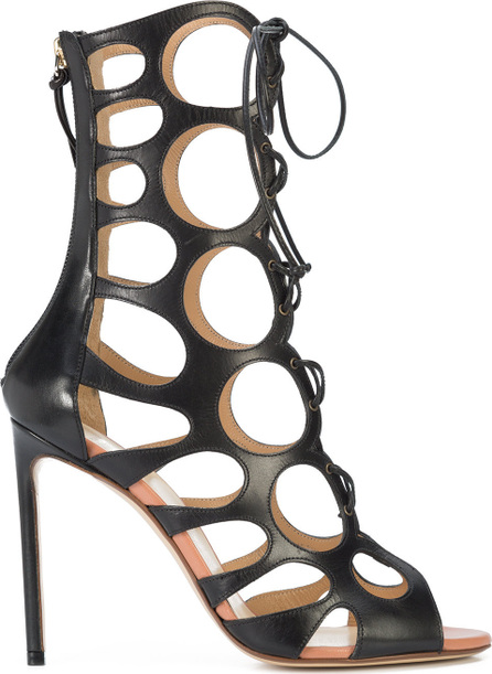 Francesco Russo Caged booties