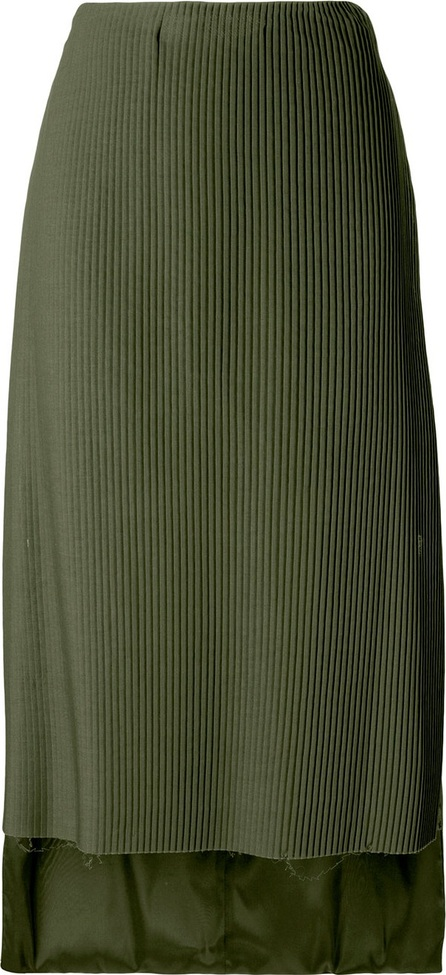 Aalto pleated front skirt