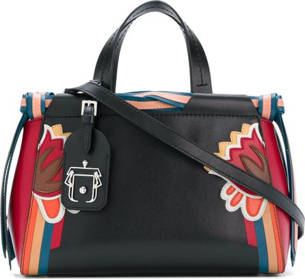 Paula Cademartori striped detail tote