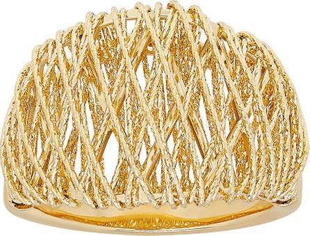 Alberto Milani 18K Gold Domed Mesh Ring, Size 7.5