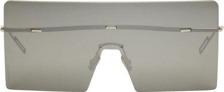 Dior Silver Hardior Shield Sunglasses